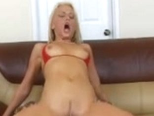 Hawt Golden-Haired Takes A BBC Up Her Butt