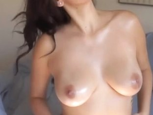 My perfect Latina wife strips for me
