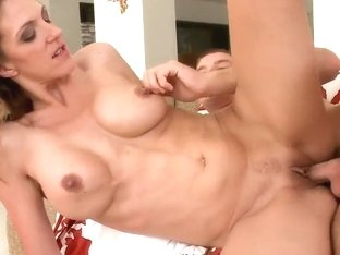 Sexy MILF Roxanne Hall gets her cunt boned hard