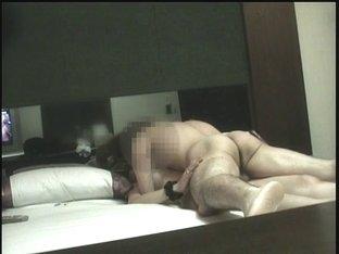 Motel room sex between asian pair