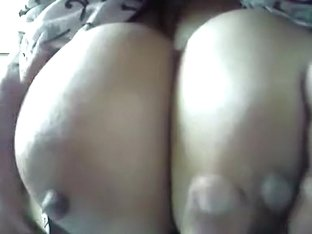Showing My Wife's Large Breast
