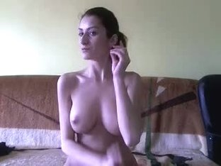 Fun home clip of horny self pleasure