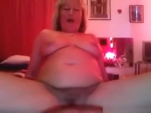 Blonde milf has pov oral and cowgirl sex and jerks 'till cumshot