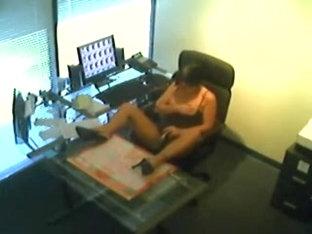 Im Office beim maturbieren erwischt
