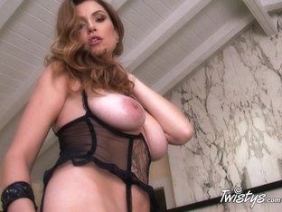 Exotic pornstar in Incredible Stockings, Fingering xxx movie