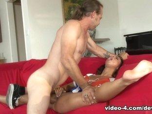 Exotic pornstars Filthy Rich, Teanna Trump in Best Interracial, Medium Tits sex clip