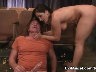 Best pornstars Aiden Starr, Scarlet LaVey, Evan Stone in Fabulous Pornstars, Foot Fetish adult sce.