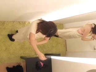 Spycam porn movie with japanese lesbians who get to climax