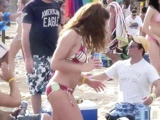 Amazing pornstar in fabulous big tits, outdoor sex scene
