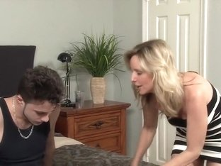 Hottest pornstar Jodi West in crazy blonde, cumshots porn scene