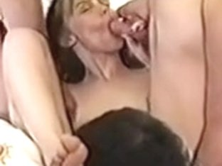 Swinger acquires greater quantity cocks than that babe can handle pt2