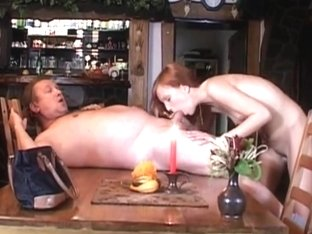 Teen Electra Angel take an old cock