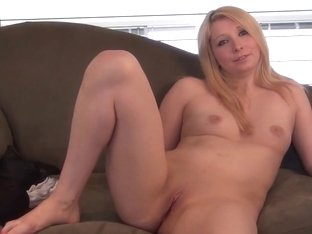 hot midwest amateur blonde naked and nervous first time video