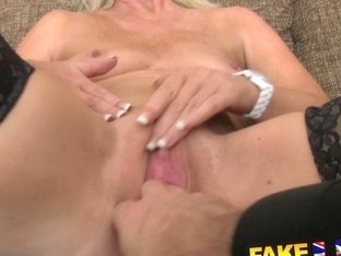 FakeAgentUK: Mature MILF wants young stud cock on demand