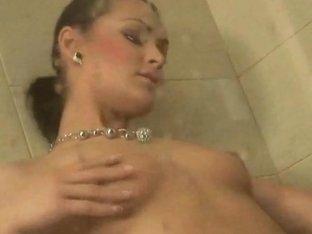 Bisexual MMF Shower Surprise