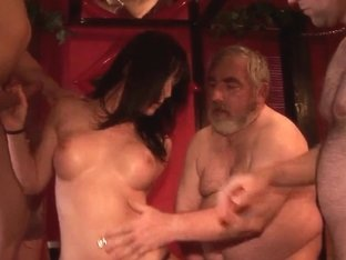 Spermastudio: cum floozy Leonie copulates and sucks lots of subrigid