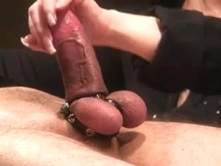 Flawless older wife wanks bound up spouse
