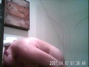 Real Hidden Shower cam WARNING High volume Sorry lol