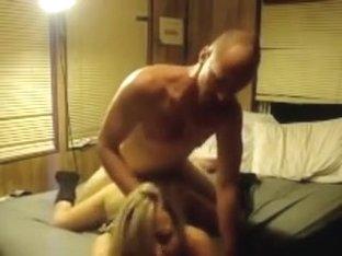 Raunchy amateur couple on film
