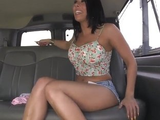 Calenita picks up sexy chick Rachel Starr