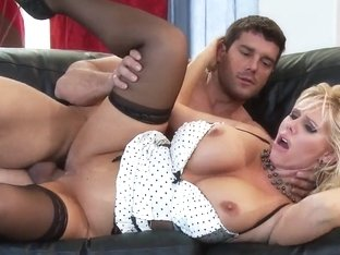 Karen Fisher has sex with Ramon while other lass is watching
