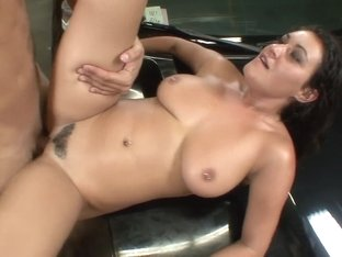 Hottest pornstar Charley Chase in exotic facial, big tits sex clip
