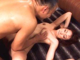 Horny Japanese chick Wakana Kinoshita in Exotic JAV censored Hardcore, Hairy scene