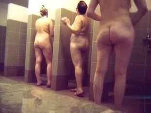 Hidden cameras in public pool showers 1030
