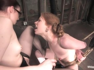 Claire Adams and Madison Young in Whippedass Video