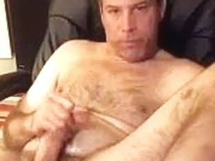 Hot dude is jerking in his room and filming himself on web cam