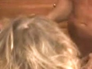 Aged Cuckold Golden-Haired Bareback Bang From Several BBC