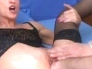Hot pornstar gets her big cunt fisted
