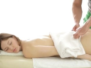 Ariadna Gets More Than Just A Massage