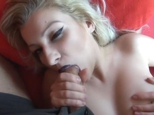 Homemade pov vid with me sucking one hard pecker