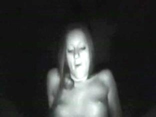 Large shlong inside constricted legal age teenager cunt on night vision camera