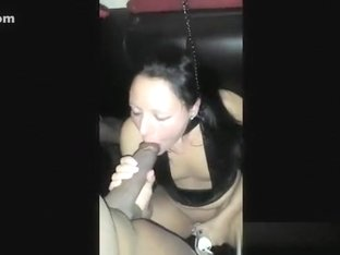 Miniature titted doxy takes BBC