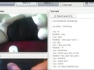 Girl on chatroulette