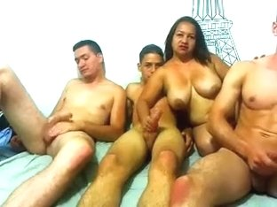 4awesomesexparty private video on 06/26/15 22:49 from Chaturbate