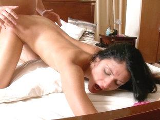 Cute enchanting beauty's impure porn movie scene