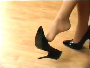 Nylon feet and shoes