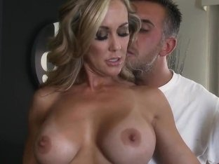 Keiran Lee can't get enough of Brandi Love's tits