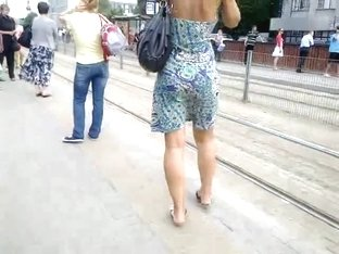 Mature girl dress legs