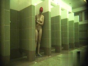 Hidden cameras in public pool showers 170