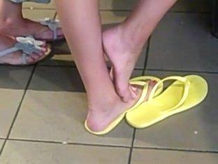 Candid feet #41
