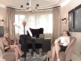Horny pornstar in crazy anal, blonde adult scene