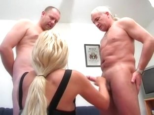 Two Slaves Milking HJ