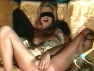 Classic European BDSM sex tape with hot blonde babe