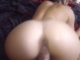 Real busty amateur rides