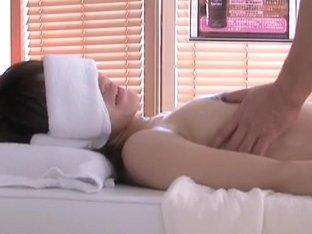 Japanese cunt is fingered in free spycam sex massage movie