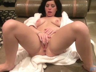 ATKGirlfriends video: Belle Noire let you watch as she gets naked
